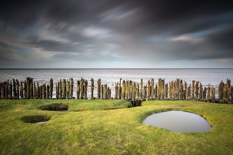Moddergat Friesland van Silvia Thiel