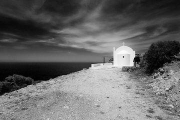 Kerkje bij Fokia van Peter Baak