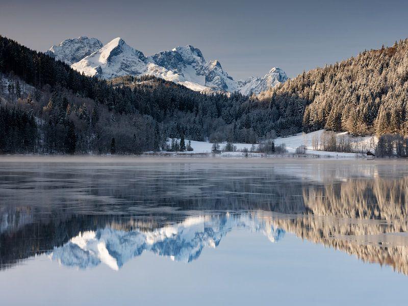 Winterstimmung am Barmsee von Andreas Müller
