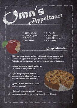 Dessert Recept: Oma's Appeltaart van JayJay Artworks