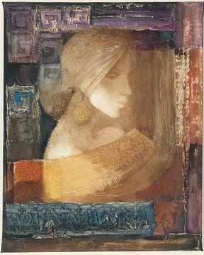 Ethereal Frau III, Albena Hristova von Wild Apple
