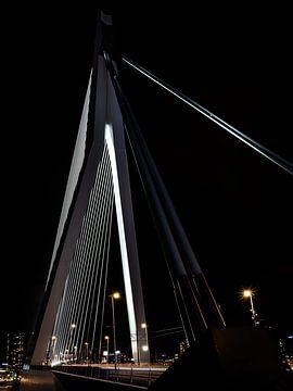 Pont Erasmus Rotterdam sur Rick van der Poorten