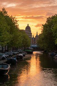 zomer in Amsterdam van Aldo Sanso