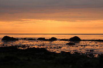 Zonsondergang van Hans van Otterloo