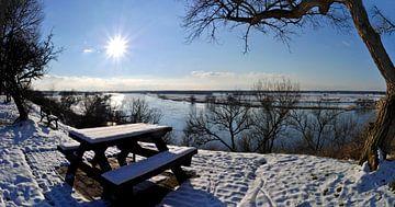 Über der Elbe van georgfotoart