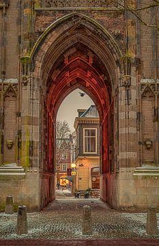 Winter in Utrecht van