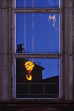 Fenster mit Hebeblock von Georges Hoeberechts