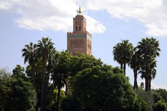 Koutoubia-moskee Marokko