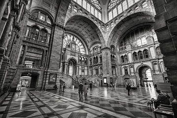 Antwerpener Bahnhof von Rob Boon
