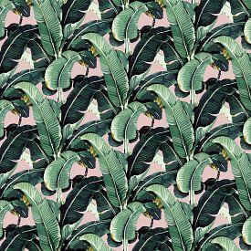 Matinique Banana Leaf zalmroze van Marieke de Koning