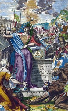 Romeyn de Hooghe, Allegorie des Alten und Neuen Testaments, 1703 von Atelier Liesjes
