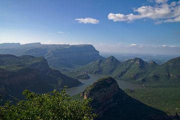 Itinéraire panoramique au Blyde River Canyon sur Frits Schulte