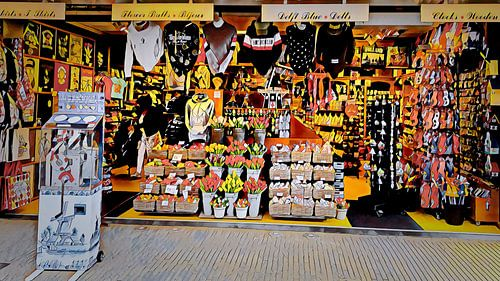 Souvenir winkel Volendam