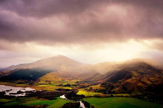 Schots landschap van Sjoerd van der Wal