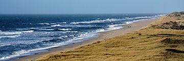 Strandspaziergang im Winter an der Nordsee von Bodo Balzer