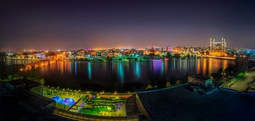 Panorama foto van Adana in Turkije van