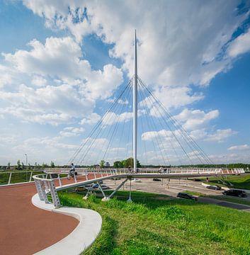 FietsbrugHovenring, Eindhoven. von Hennnie Keeris