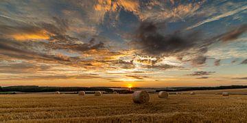 Sunset Saarburg von Jochem van der Blom