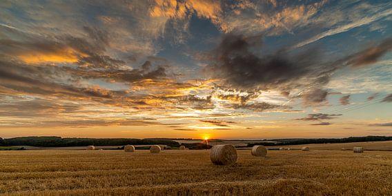 Sunset Saarburg van Jochem van der Blom
