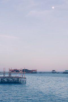 Maanlicht als de avond valt | Indonesië van Photolovers reisfotografie
