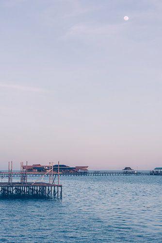 Maanlicht als de avond valt | Indonesië