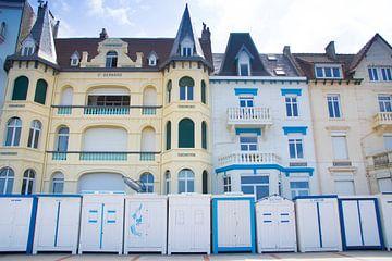 Strandhutten in Wimereux van Daniela Tchinitchian Photography