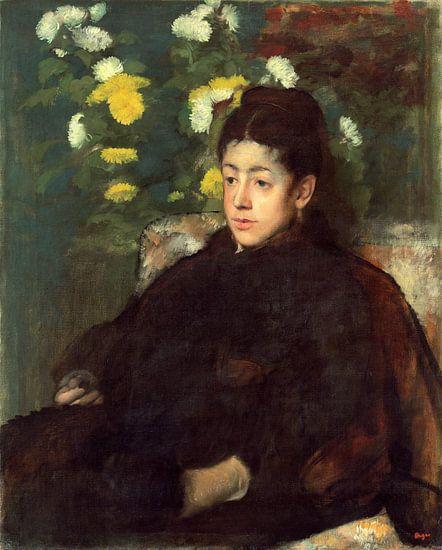 Mademoiselle Malo, Edgar Degas van Liszt Collection