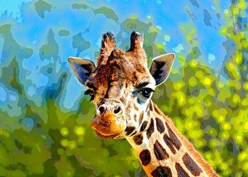 Giraffe von Leopold Brix