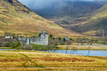 Kasteel Kilchurn -Schotland van Cilia Brandts