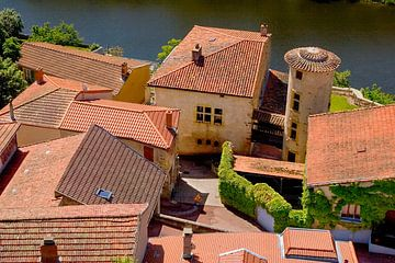 De daken van Saint Jean Saint Maurice van Ton van Zeijl
