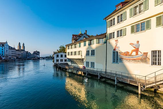 Oude binnenstad van Zürich