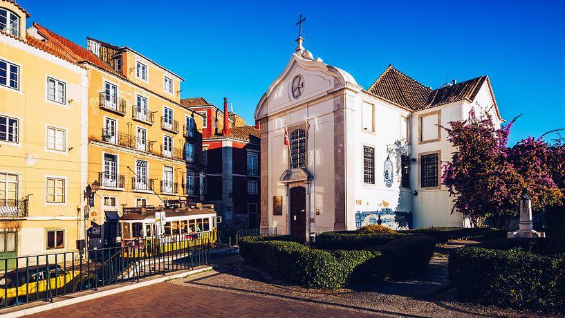 Lisbon – Igreja de Santa Luzia van Alexander Voss