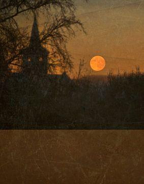 Rode maan van Anouschka Hendriks