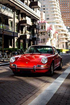 Klassischer roter Porsche 911 von Alwin Kroon