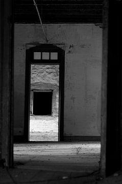 Open deur van