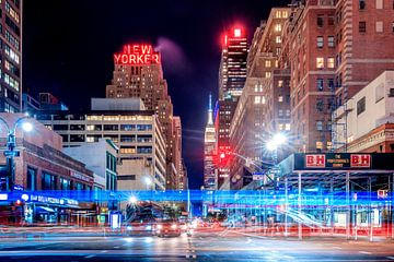 New York City bij nacht