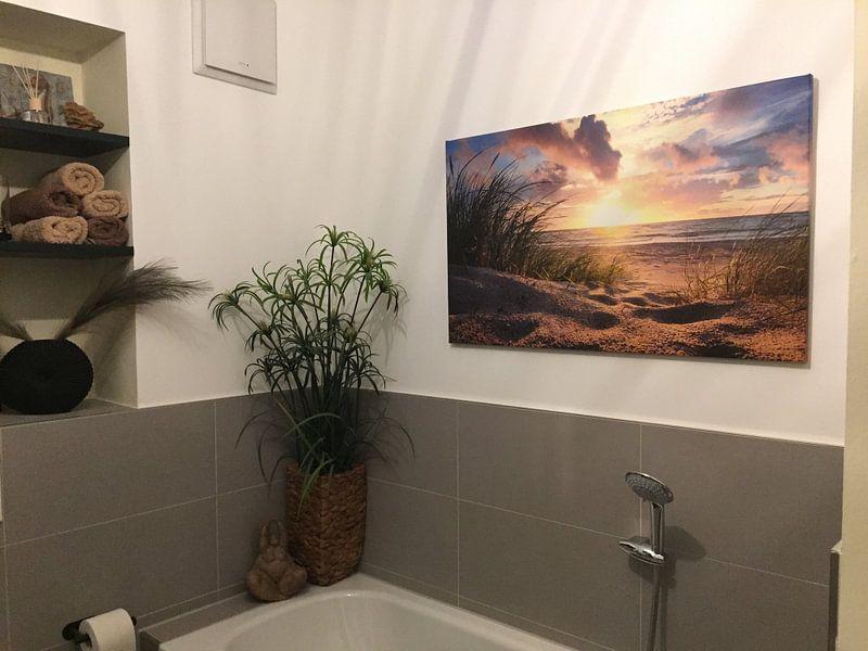 Kundenfoto: Sonnenuntergang an der Ostsee von Steffen Gierok