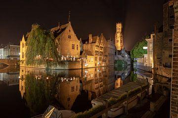 Rose Hat Quay bei Nacht von Martijn Mureau