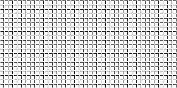 Permutatie | ID=10 | V=30-25 | 2:1 | 40x20 van Gerhard Haberern