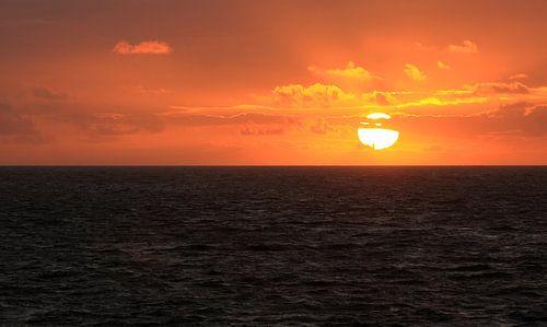 Zonsondergang in Zoutelande van MSP Photographics