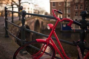 Amsterdamse fiets van Angel Flores