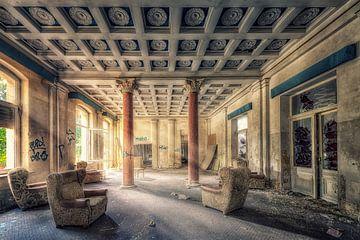 Lost Place Große Halle von Carina Buchspies