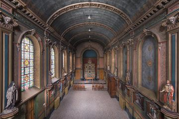Chapelle colorée sur Perry Wiertz