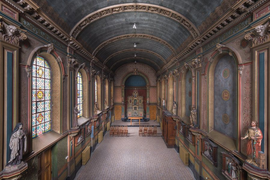 Kleurrijke Kapel van Perry Wiertz