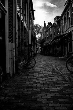 Straße in Zwolle von Rik Verbeek