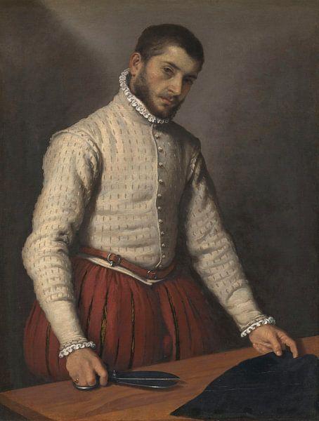 Der Schneider, Giovanni Battista Moroni von Meesterlijcke Meesters