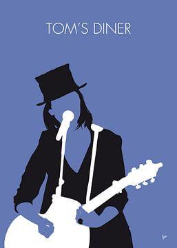 No298 MY Suzanne Vega Minimal Music poster von