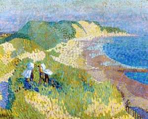 Meer und Dünen bei Zoutelande, Jan Toorop,