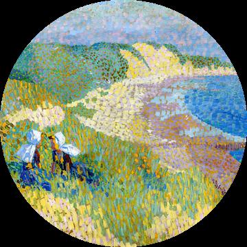 Zee en duinen bij Zoutelande, Jan Toorop, van Atelier Liesjes