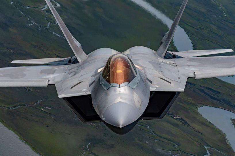 F-22 Raptor U.S. Air Force Straaljager van Atelier Liesjes